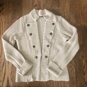 Lucky Brand Chunky Knit Cardigan Size S